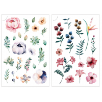 Print On Sticker- Flowers 1